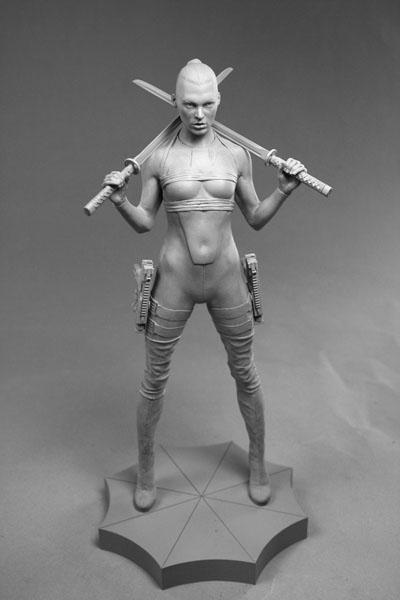 figurka z filmu resident evil