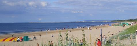 Najszersza w Polsce plaża nad morzem - Świnoujście