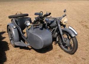 motocykl niemiecki z czasów II wojny swiatowej