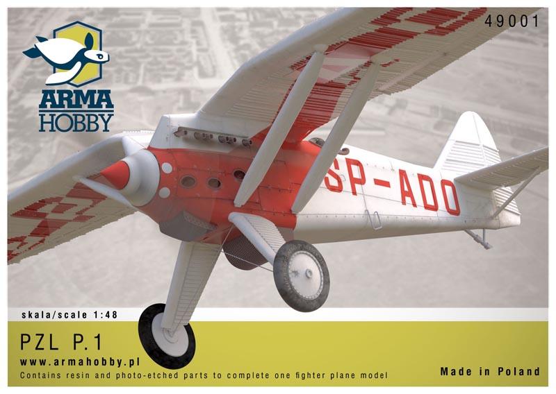 model żywiczny samolotu PZL P.1