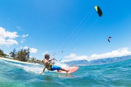 kitesurfing - hobby dla prawdziwego faceta
